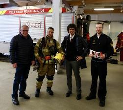 «Маяк спасателя» будет помогать пожарным Финляндии