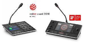 Система PRAESENSA на базе IP и пульт переводчика DICENTIS были отмечены престижными премиями в области дизайна