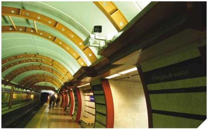 Петербургская подземка внедряет интеллектуальную систему видеонаблюдения
