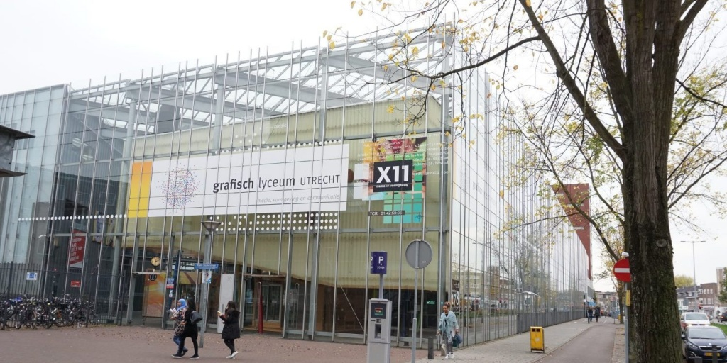 Поэтапная модернизация системы видеонаблюдения в творческой среде Grafisch Lyceum Utrecht