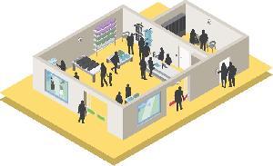 Компания Axis представляет комплексные решения для предотвращения краж и оптимизации работы магазинов