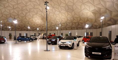 Обновление системы видеонаблюдения для дистрибьютора Lexus и Toyota