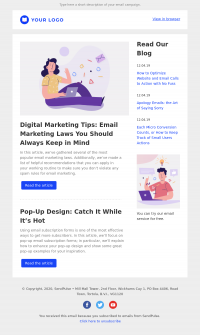 other free email template